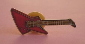 Guitar Pin - sorbetaccesories